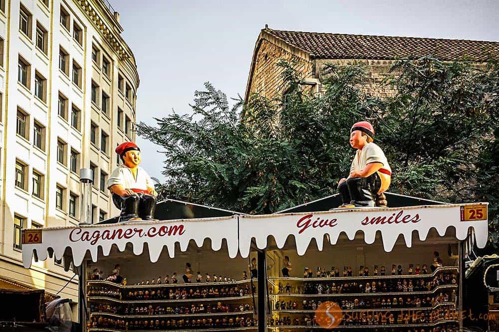 Tradizioni Natalizie a Barcellona - il caganer