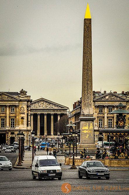 Que ver en Paris - Plaza de la Concordia