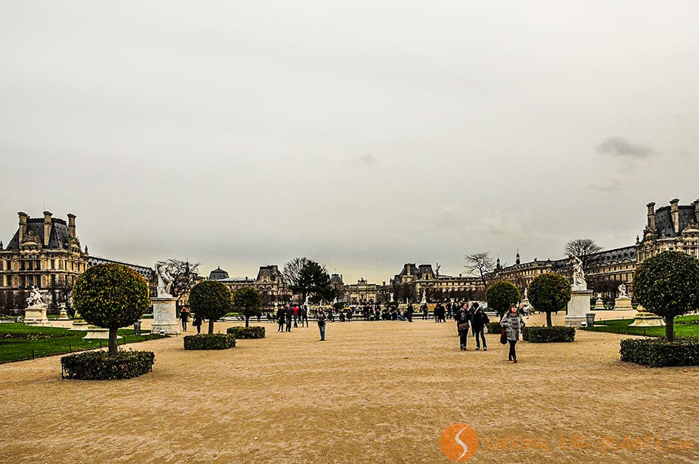 Que ver en Paris - Jardines Tulleries