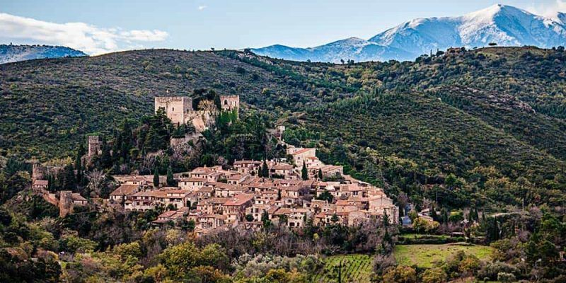Castelnou - Sur de Francia