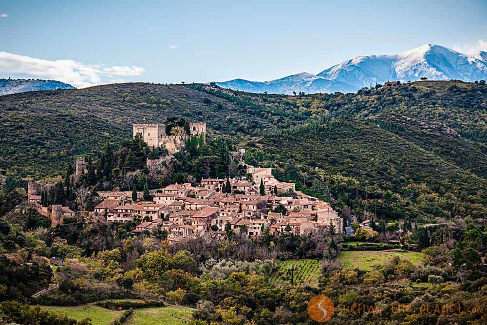 View of Castelnou |Things to do in Perpignan