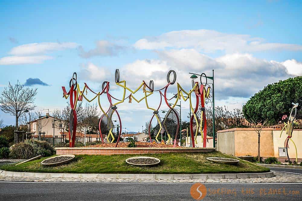 Perpignan Monumento a la Sardana