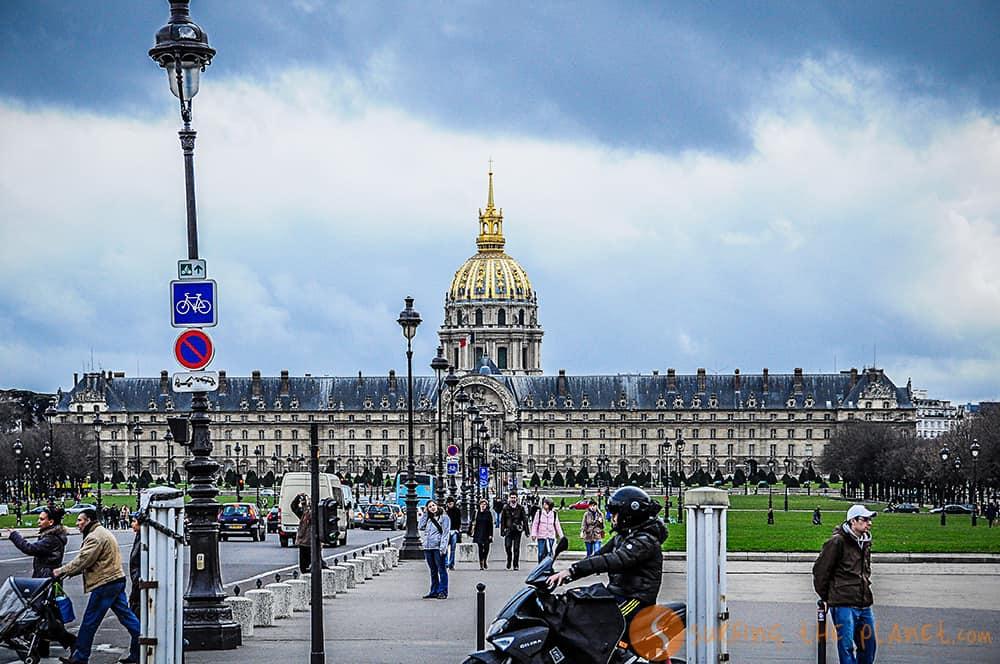 Les Invalides, París, Francia