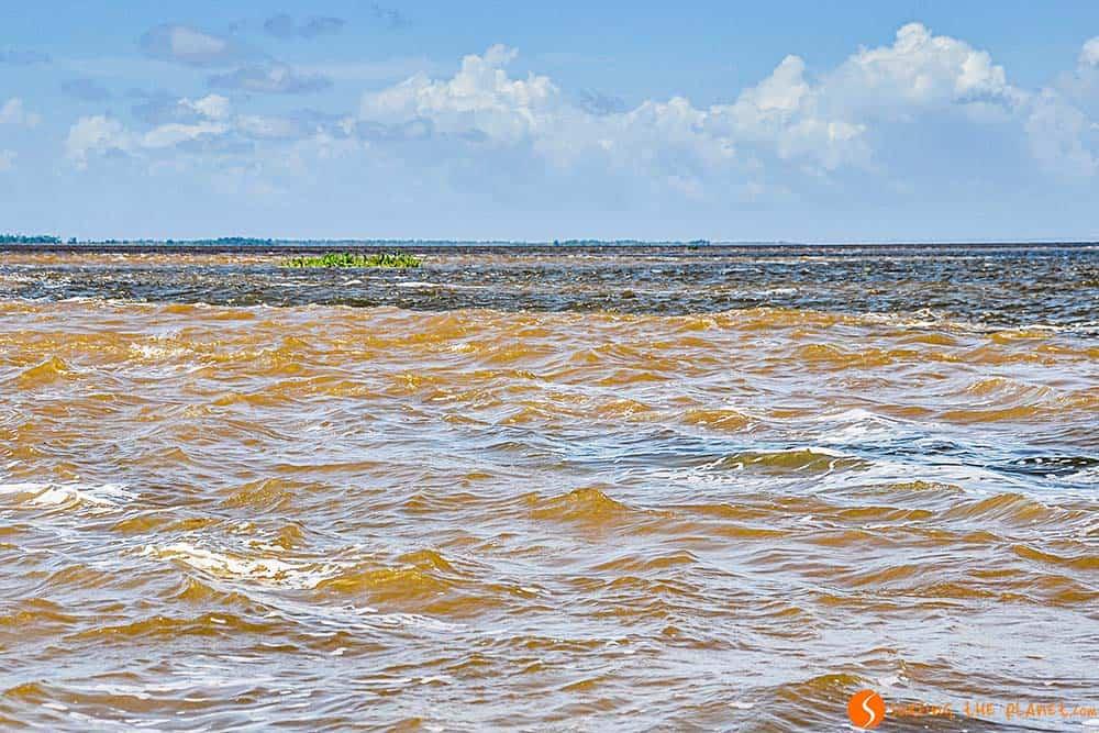 Encuentro río Tapajós y Amazonas