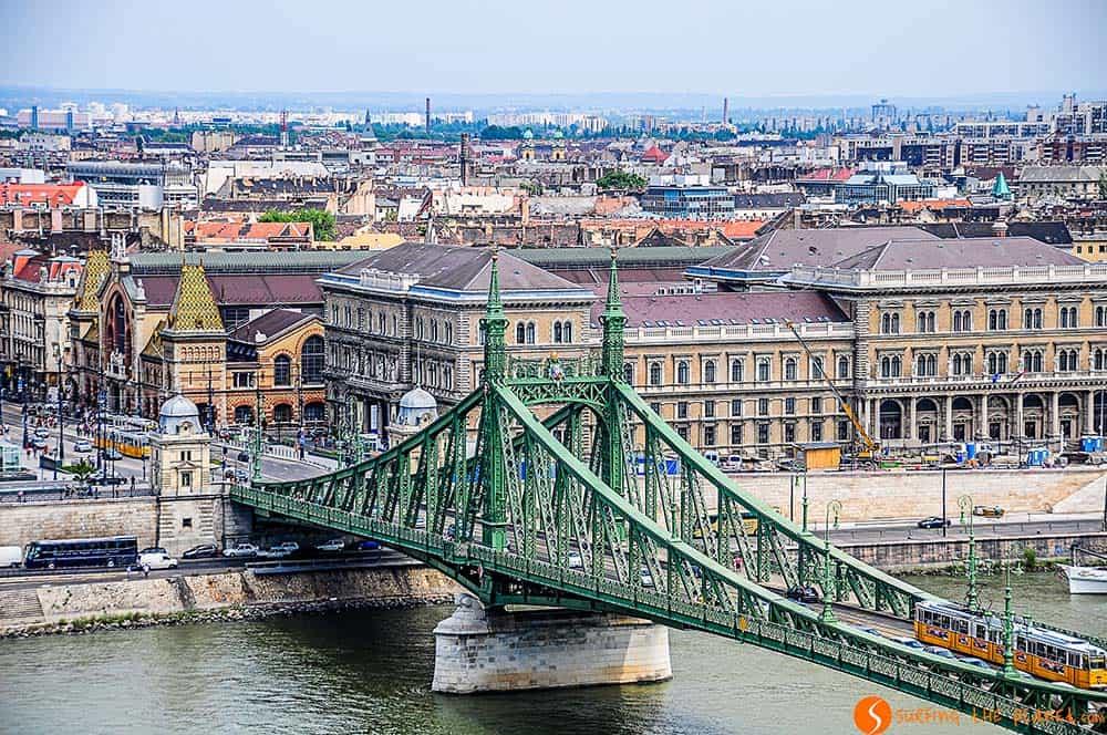La Puente de la Liberta   Guía de viaje a Budapest