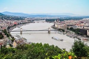 Visitare Budapest - panorama della città