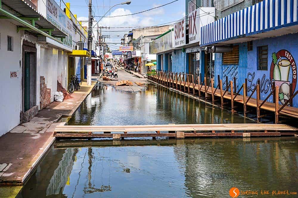 Santarém, una ciudad inundada - Amazonas