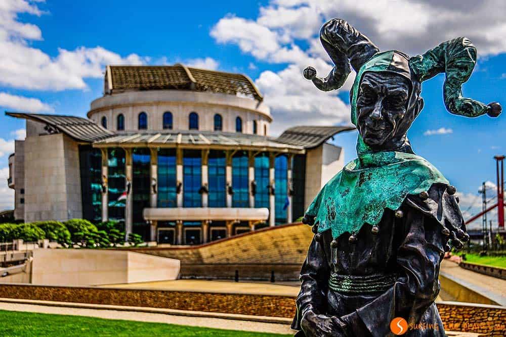 Que ver en Budapest - Teatro Nacional
