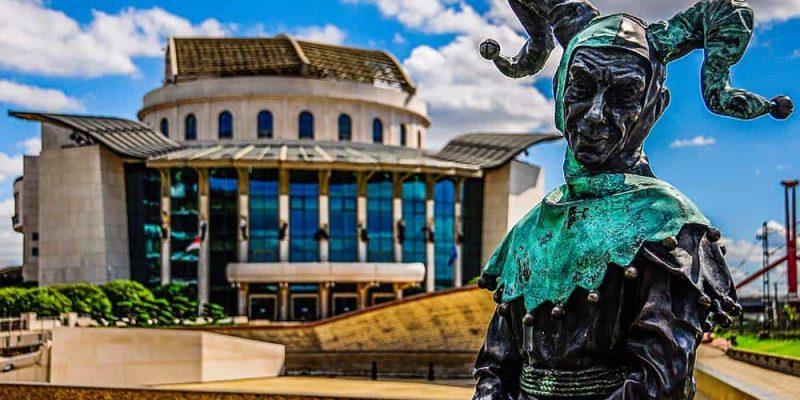 Visitare Budapest - Teatro Nazionale
