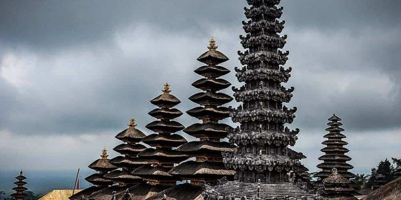 The main temple in Bali - Pura Besakih