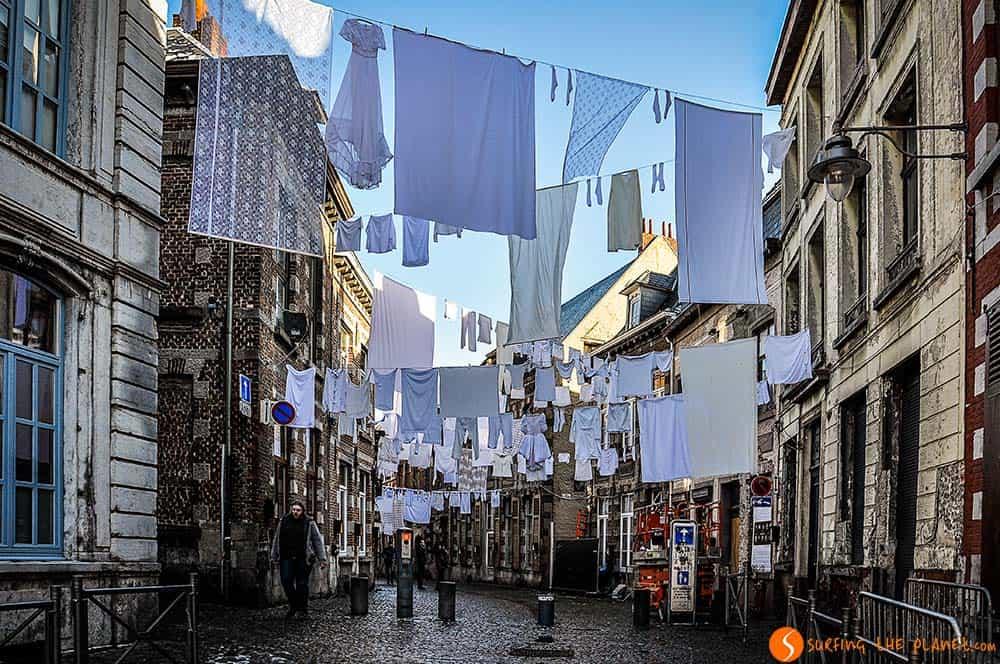 Visitar Mons - calles de la ciudad