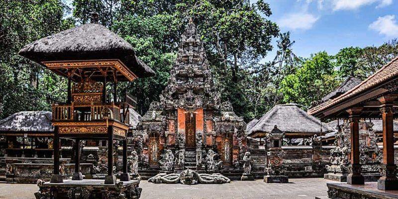 Padangtegal Mandala Wisata Wanara Wana - Templos de Bali