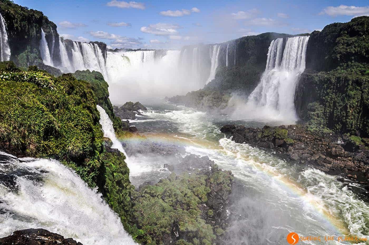 Arco iris y el Garganta del Diablo - Iguazú - Argentina