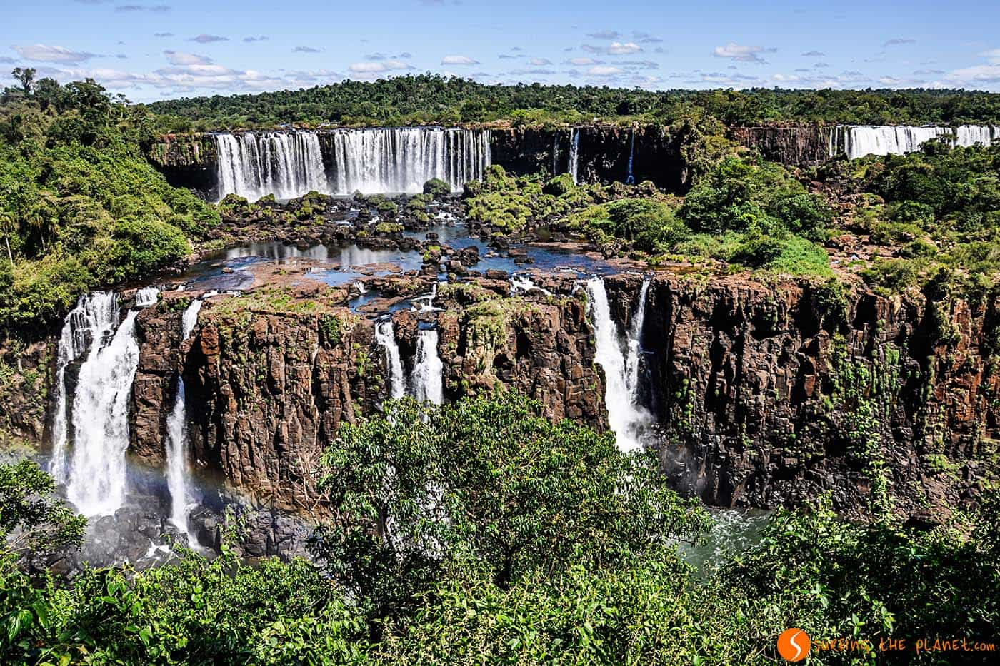 Cascate Iguazù dal Brasile