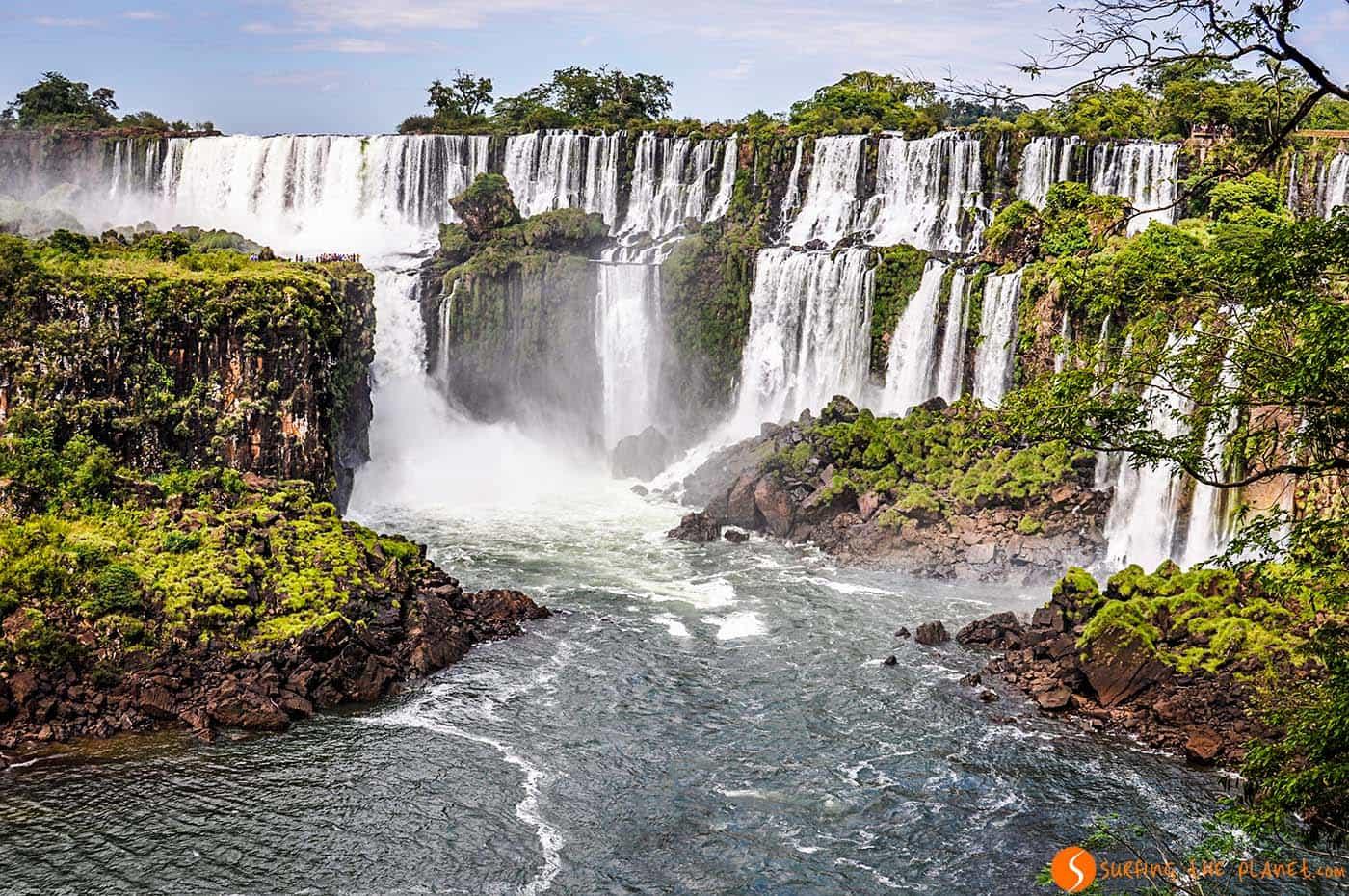 Panorama cascate iguazù