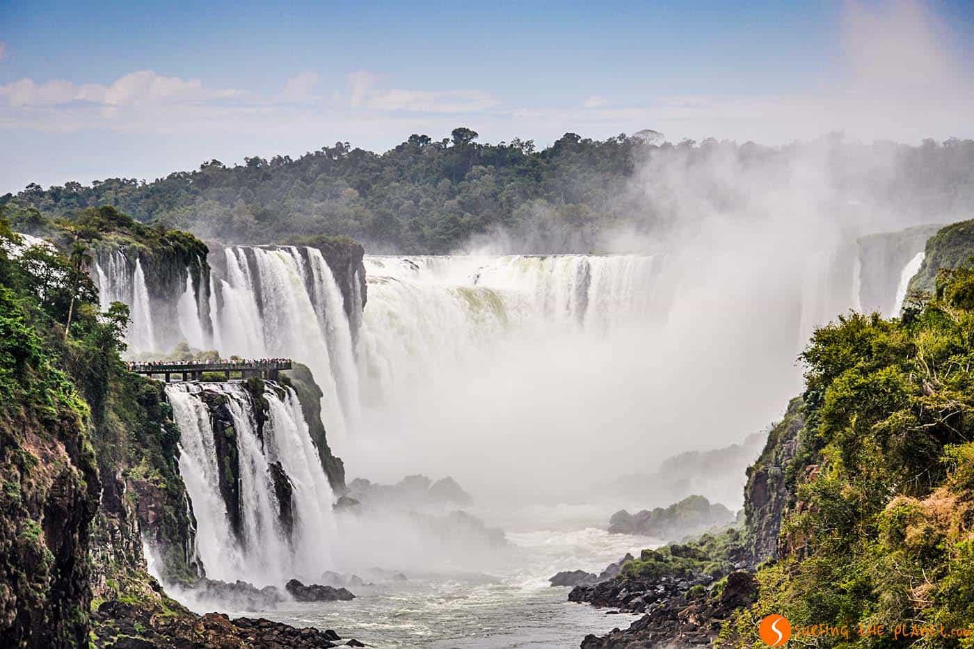 Le cascate più belle - cascate di iguazù
