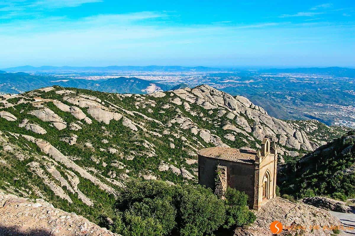 Piccola capella a Montserrat | posti da vedere a Barcellona