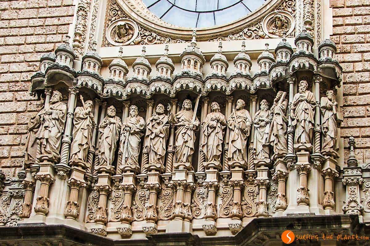 Facciata monastero Montserrat | Escursione Montserrat