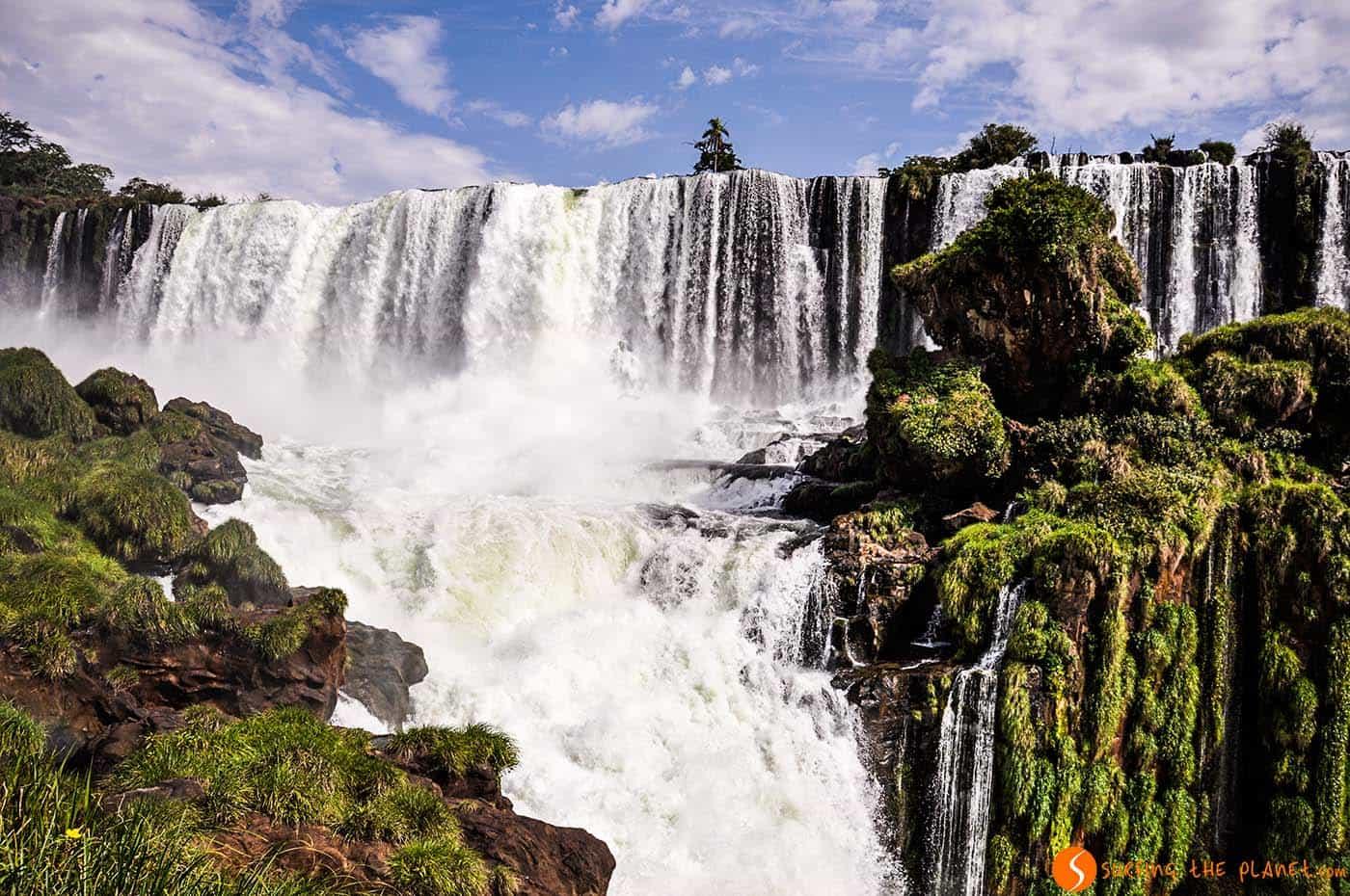 La forza dell'acqua - cascate iguazù