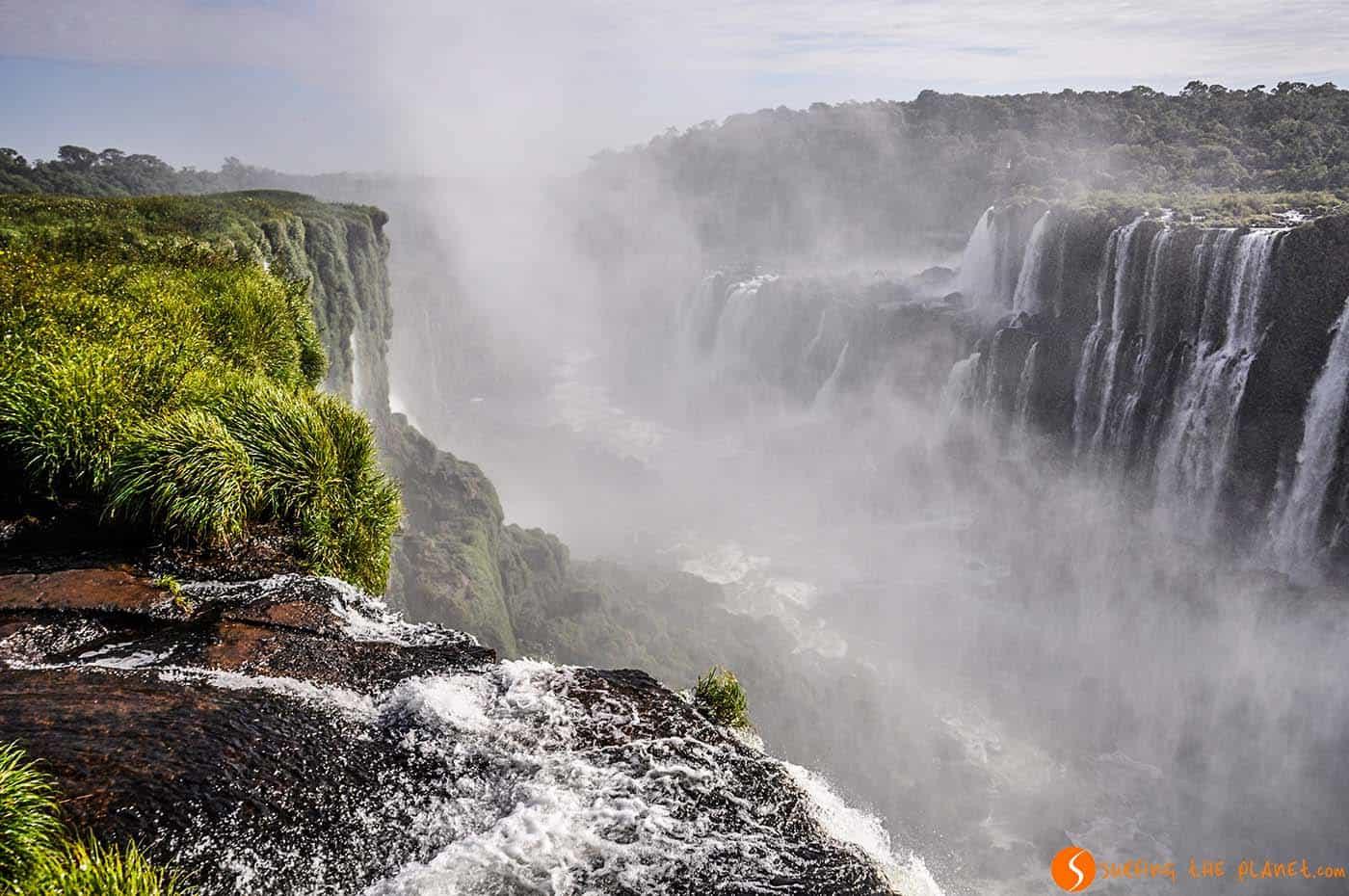 Vapor en las Cataratas del Iguazú