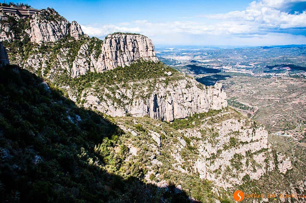 Paesaggio da Montserrat | Visitare Barcellona