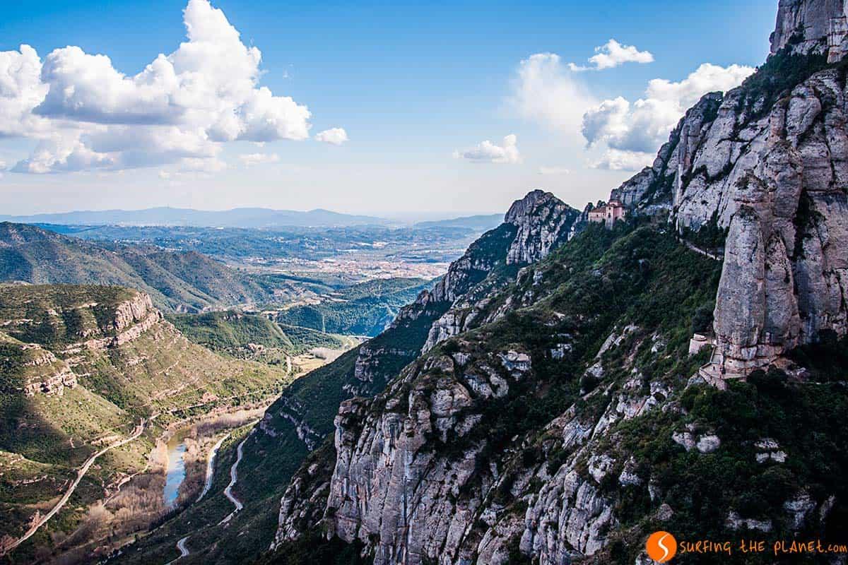 Paesaggio dalla Santa Cova | Montserrat Barcellona
