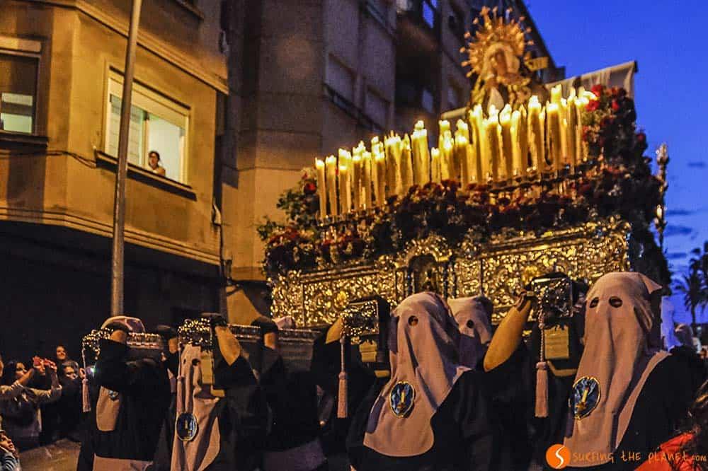 Procesión Semana Santa Hospitalet de Llobregat Barcelona