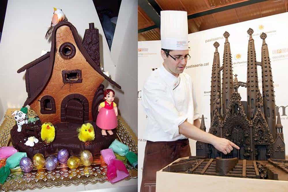 Mona de chocolate - Semana Santa en barcelona
