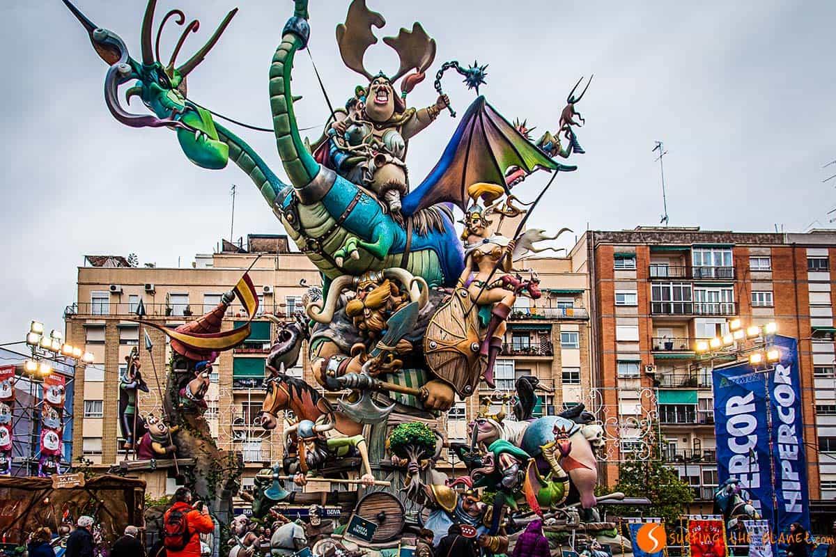 Falla Valencia | Visitar Valencia
