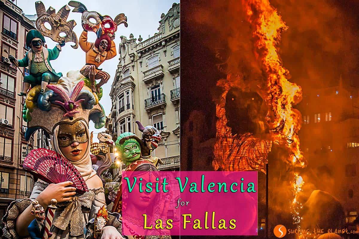Visit Valencia For Las Fallas Festival