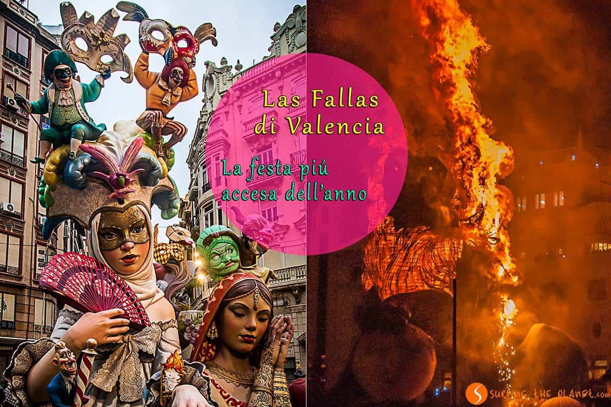 Visitare Valencia durante la festa di Las Fallas - La festa piu accesa dell'anno