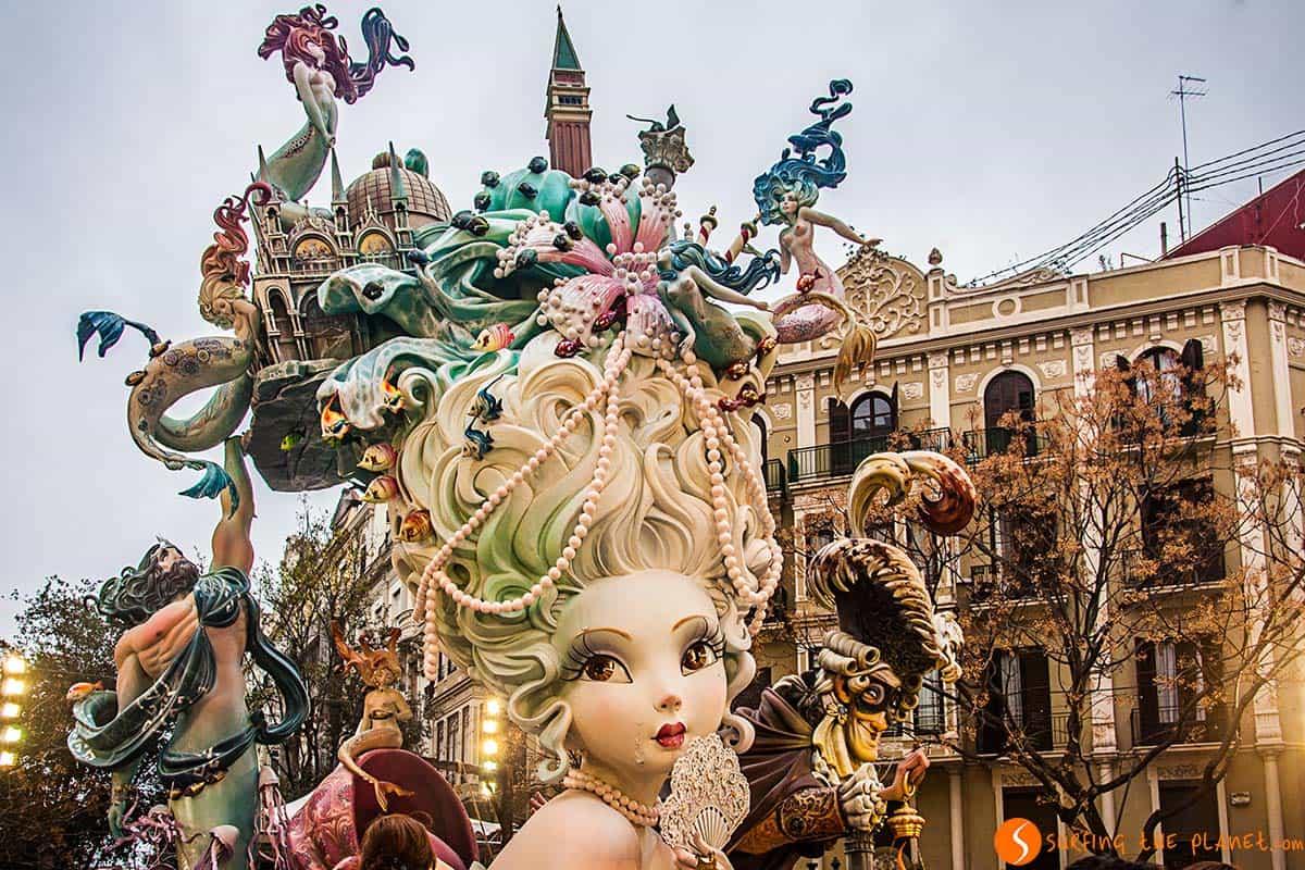 Representación de Venecia | Fallas Valencia