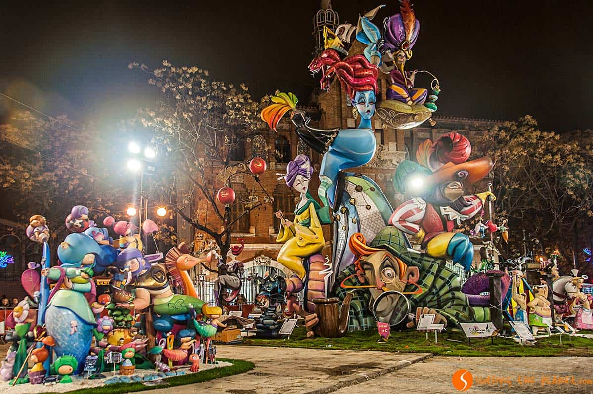 Falla del mercado 2015 | Falla Valencia