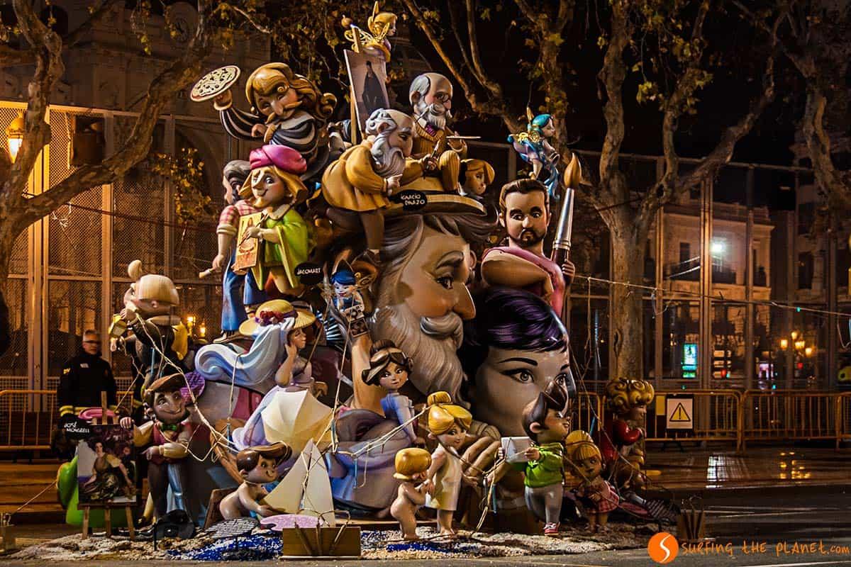 Falla pequeña ayuntamiento 2015 | Que ver en valencia