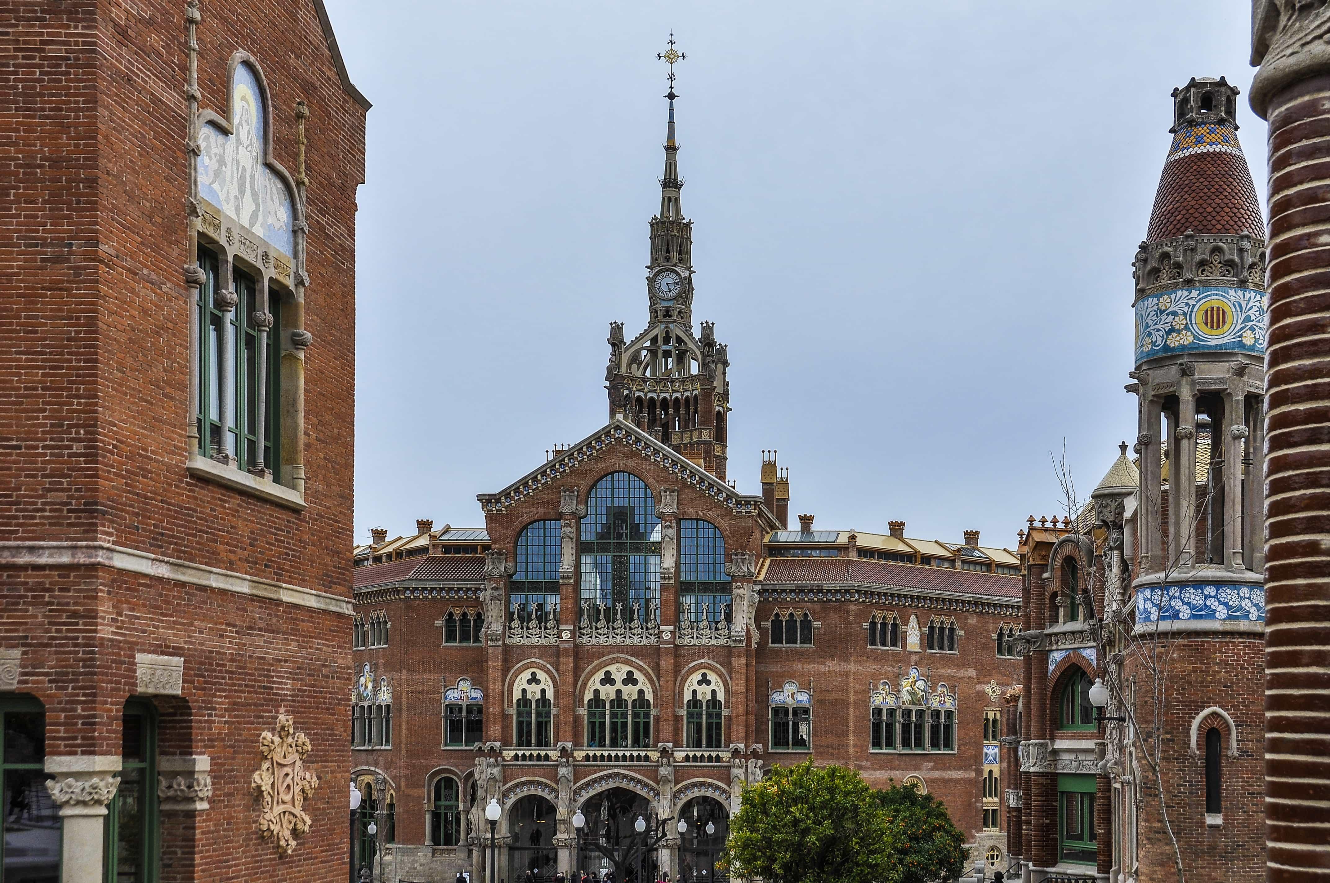 Edificio Hospital San Pau | Lugares que visitar en Barcelona