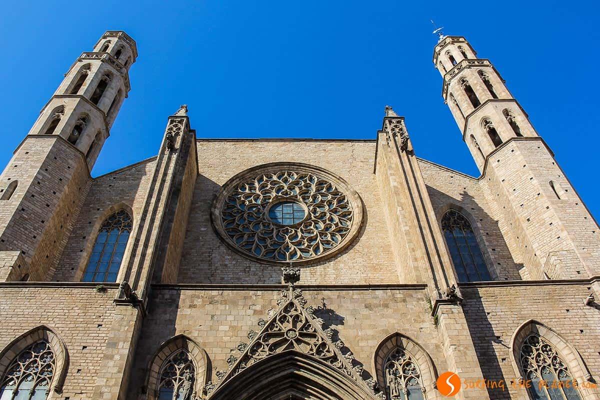 Lugares que visitar en Barcelona | Santa Maria del Mar