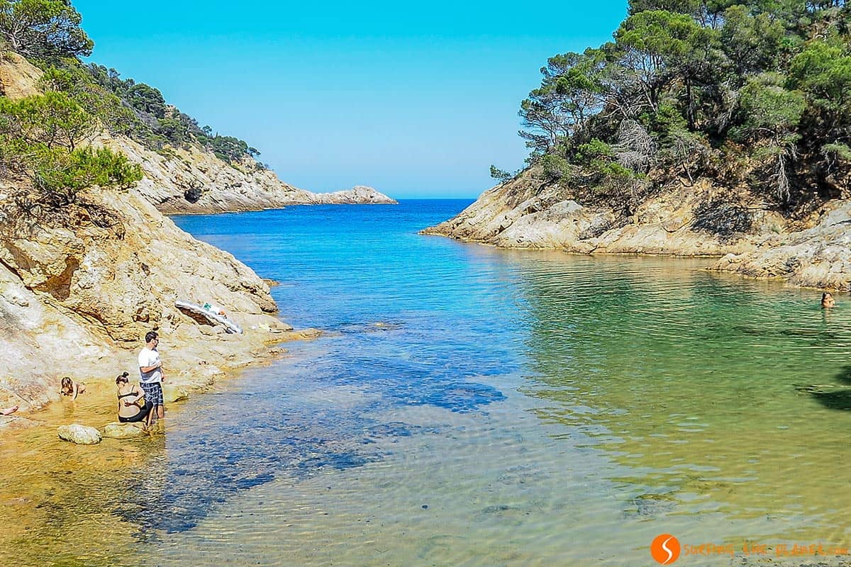 Cala Bona, Tossa de Mar, Costa Brava, Cataluña
