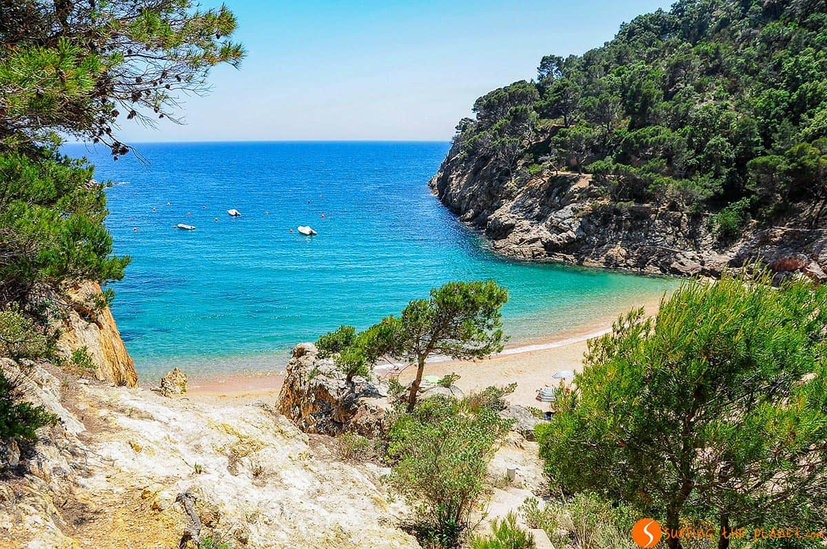 Mapa Costa Brava Playas.Las 25 Mejores Playas Y Calas De La Costa Brava
