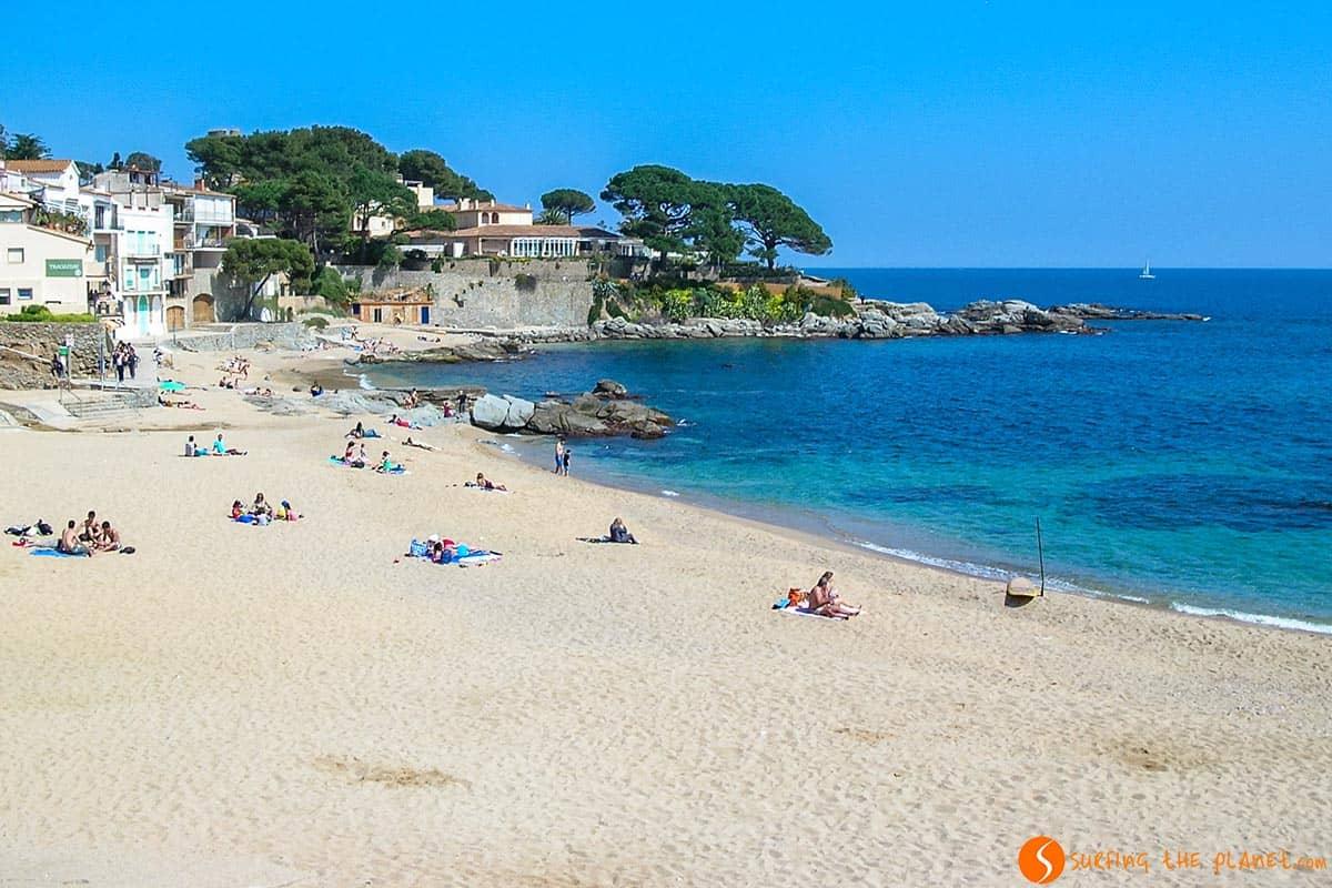 Platja Canadell, Calella de Palafrugell, Costa Brava, Cataluña | Las mejores calas de la Costa Brava