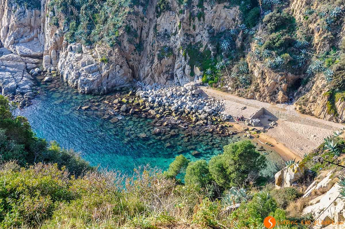 Platja Es Codolar, Tossa de Mar, Costa Brava, Cataluña