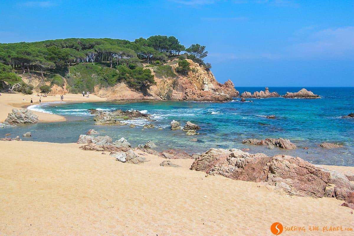 Playa Sa Conca, Costa Brava, Cataluña