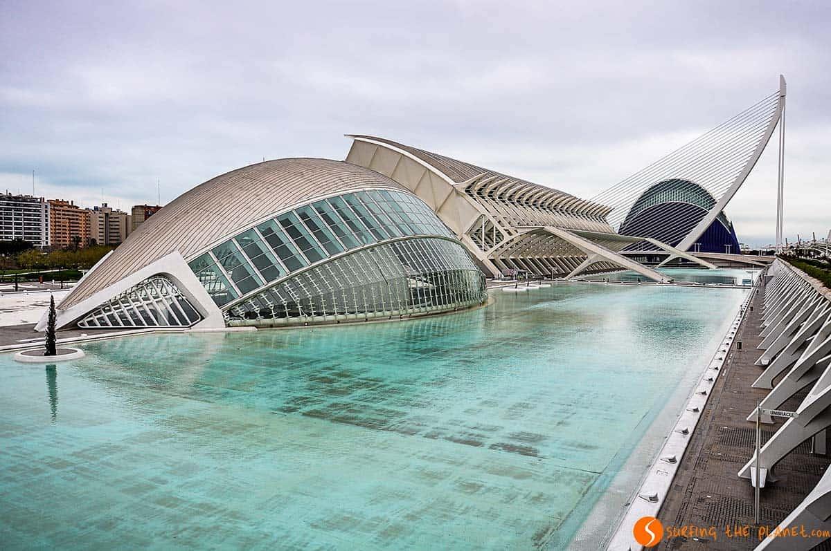 Ciudad de las Artes y Ciencias, Valencia, España