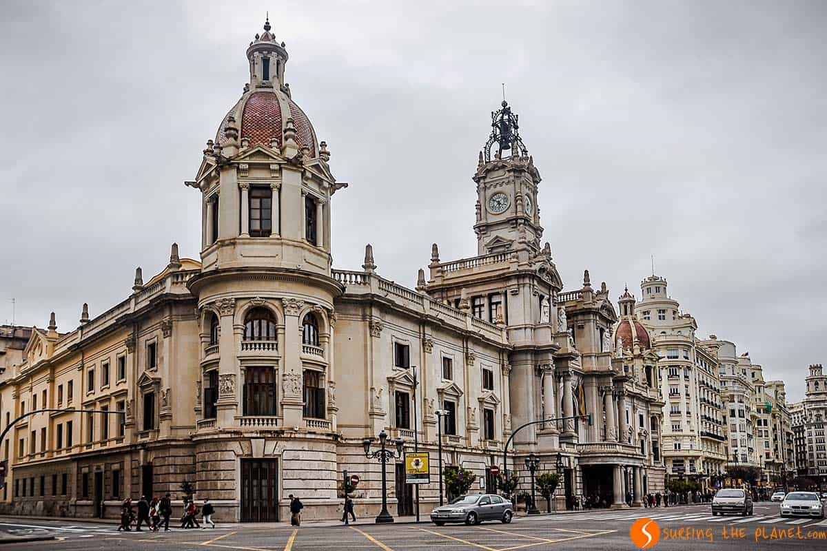 Visit Valencia in 3 days - The City Hall