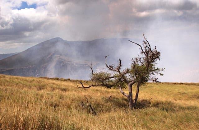 volcano Masaya foto by George Kenyon