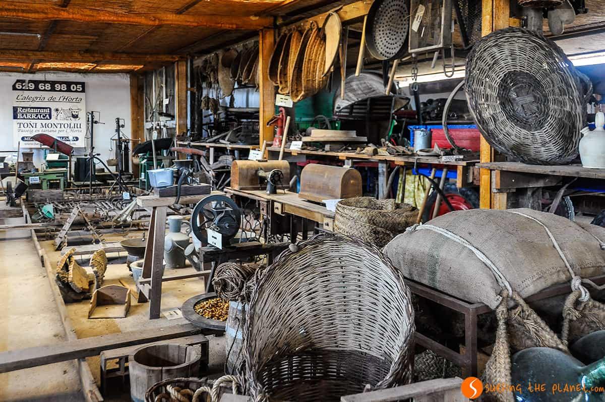 Visitar Valencia - Museo de objetos para cultivar la tierra