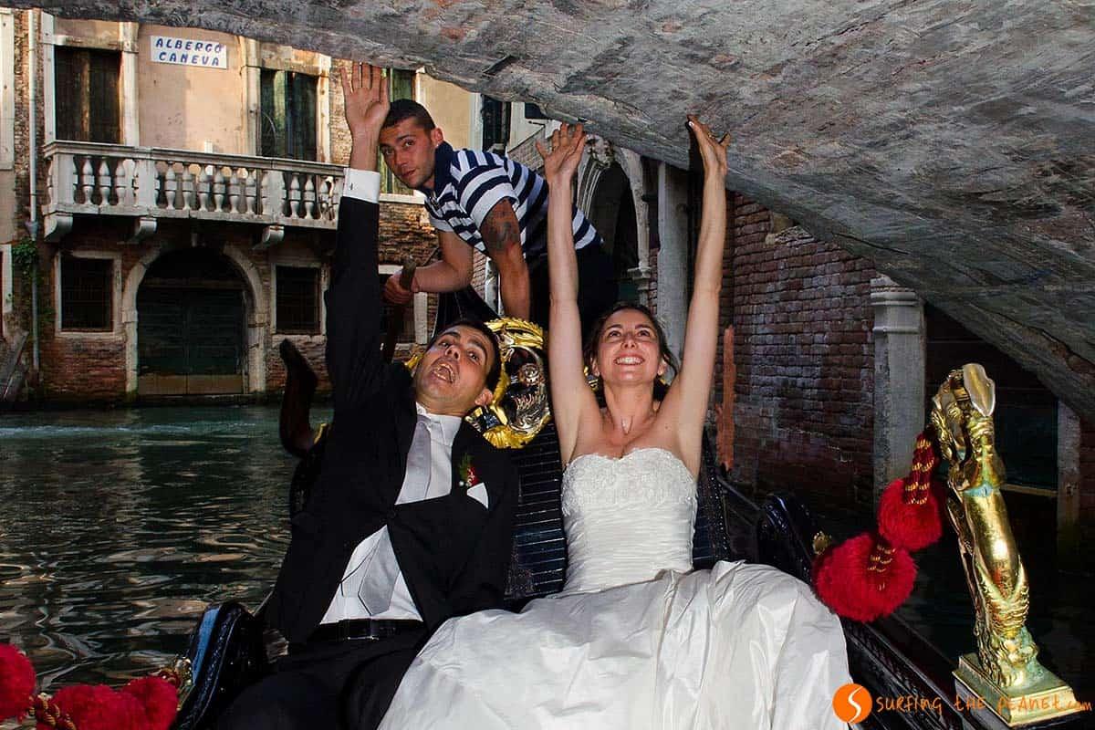 Novios en Venecia | Blog de viajes