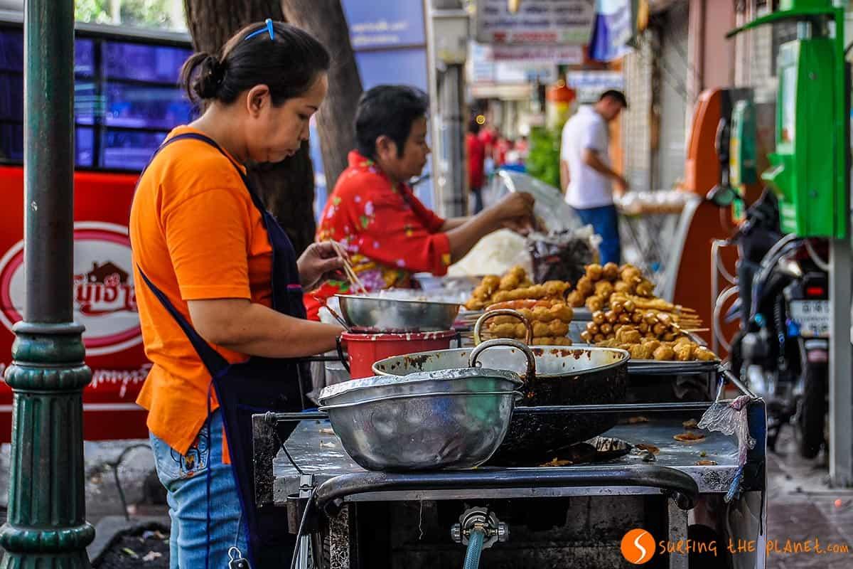 Banchetti di cibo di strada Bangkok | Cosa mangiare a Bangkok