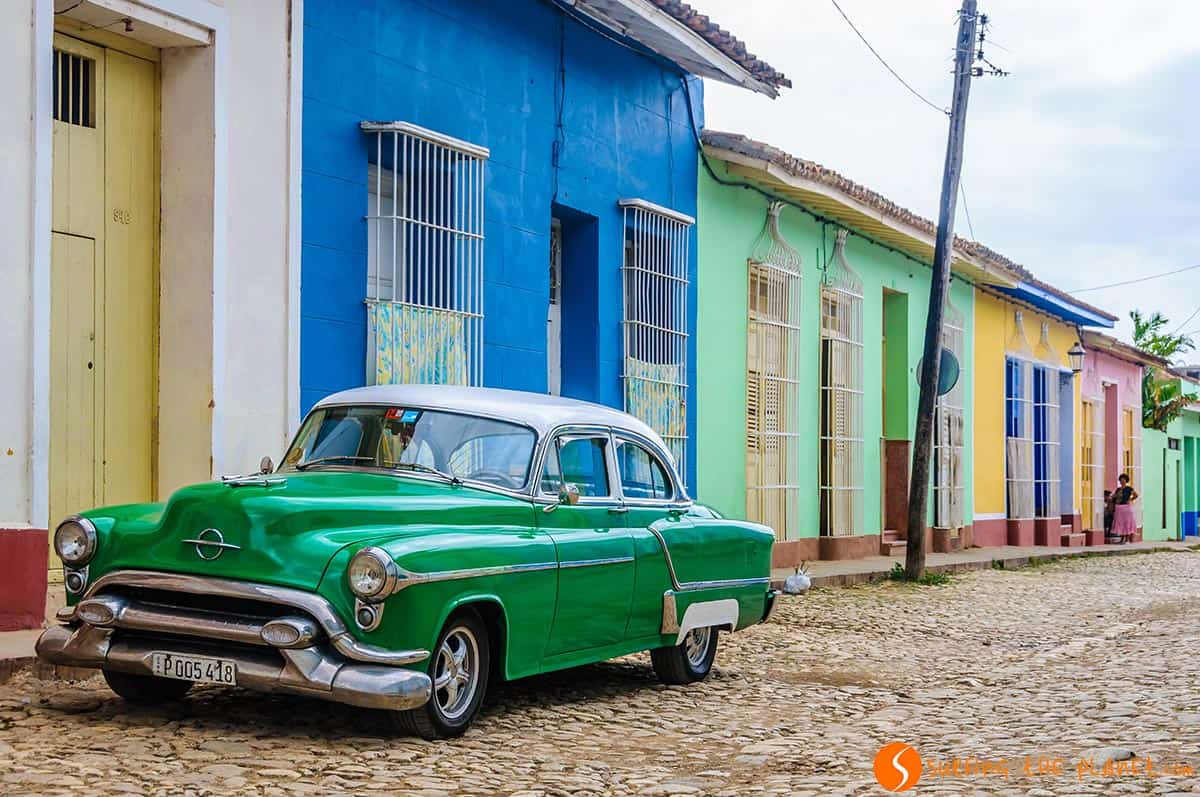 Coche típico en la calle, Trinidad, Cuba | Los mejores free tours de Centroamérica