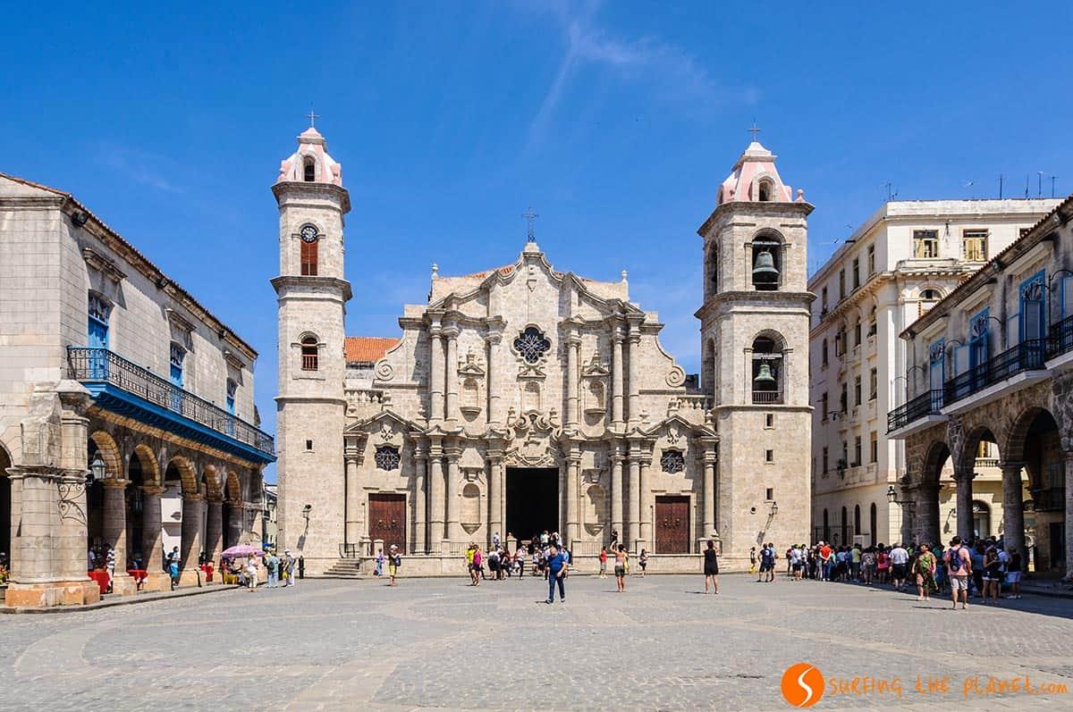 Plaza catedral habana vieja | Qué ver y hacer en Cuba en 15 días