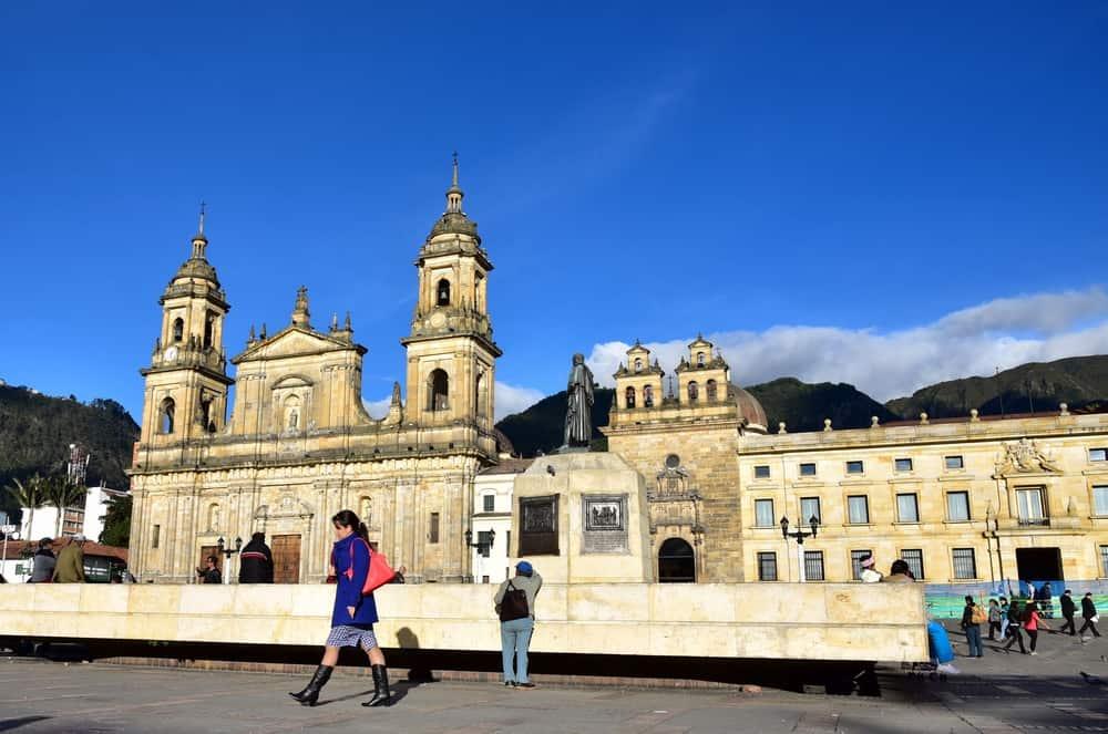 Bogotá centro ciudad   viajar a Colombia